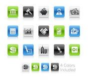 企业干净的财务系列 免版税库存图片