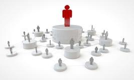 企业平台概念 图库摄影