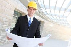 企业建筑人 免版税图库摄影