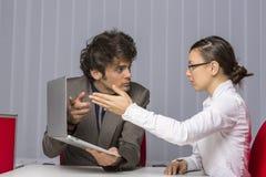 企业异议 免版税图库摄影
