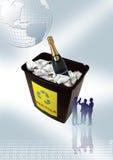 企业当事人 免版税库存照片