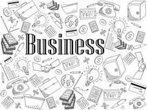 企业彩图传染媒介例证 免版税库存图片