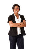 企业微笑的妇女 免版税图库摄影