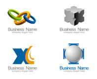 企业徽标向量 免版税图库摄影