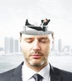 企业心态概念 免版税库存照片