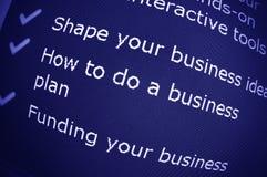 企业忠告 图库摄影