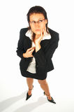 企业性感的妇女 图库摄影