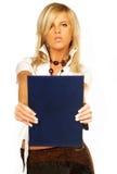 企业性感的妇女 免版税库存图片