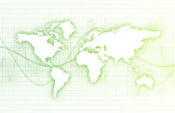 企业总公司技术世界 免版税库存图片