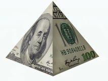 企业您金字塔的成功 库存照片