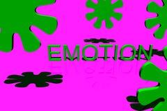 企业情感徽标 库存图片