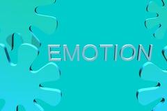 企业情感徽标 库存照片