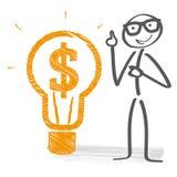 企业想法例证 向量例证
