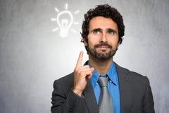 企业想法概念 免版税库存照片