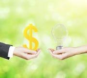 企业想法概念 免版税库存图片