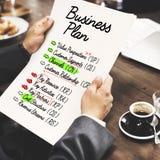 企业想法计划战略概念 免版税库存照片