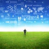 企业想法 免版税库存图片