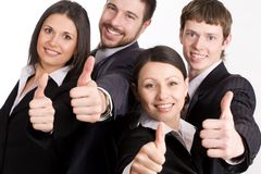 企业愉快的人员 库存图片