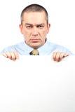 企业愤怒的人 免版税库存照片