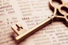 企业成功关键性概念想法和创新 免版税图库摄影