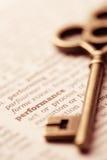 企业成功关键性概念表现 免版税库存照片