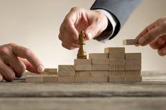 企业成功和促进概念 免版税图库摄影