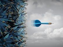 企业成功焦点 免版税图库摄影