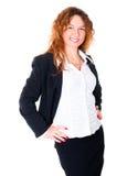 企业成功的妇女 库存图片