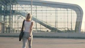 企业成功的妇女 股票录像