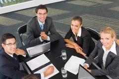 企业成功的小组 免版税库存照片