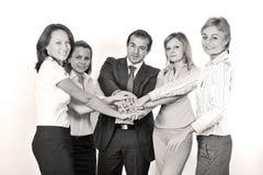 企业成功的小组 图库摄影