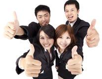 企业成就小组年轻人 库存照片