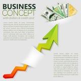 企业成就 免版税库存图片