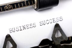 企业成就 库存图片