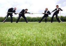 企业战争 免版税图库摄影