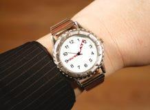 企业手表 免版税库存照片