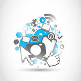 企业技术变革 库存照片