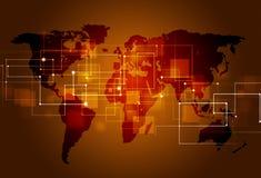 企业技术连接 库存照片