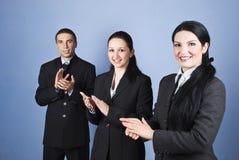 企业拍的人员 免版税图库摄影
