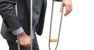 企业拐杖 免版税库存图片