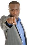 企业拳头人符号 库存图片