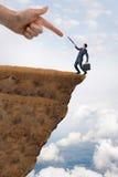企业挑战概念 免版税图库摄影