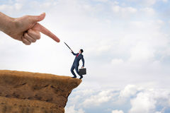 企业挑战概念 库存图片