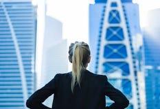 企业挑战 E 免版税图库摄影