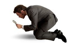 企业搜索 免版税库存图片