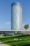 企业摩天大楼在布加勒斯特 免版税库存图片