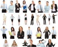 企业收集人 免版税库存图片