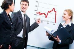 企业教学 免版税库存照片