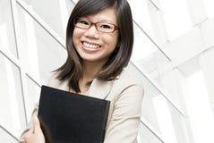 企业教育妇女 免版税库存图片