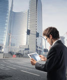 企业新技术 免版税图库摄影
